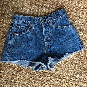 COPY - Redone shorts 23 medium wash